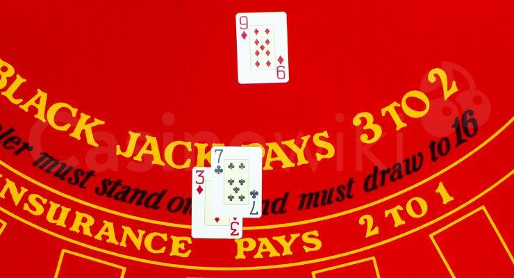 Hoe verdubbel je de inzet bij blackjack