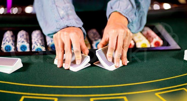 Hoe deal je blackjack