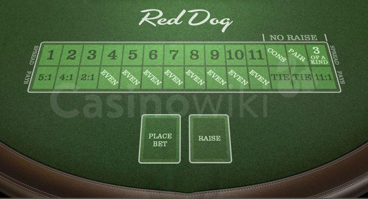 Hoe speel je Red Dog