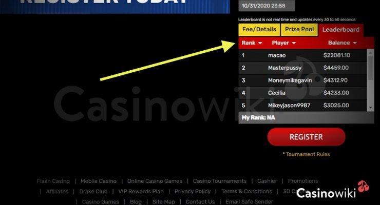 Hoe speel je een gokkasten toernooi 4