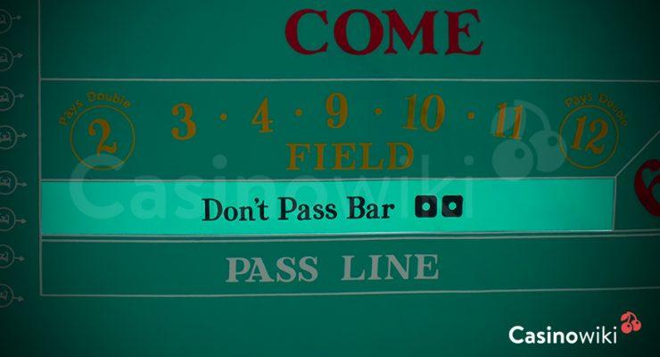 Don't pass bar