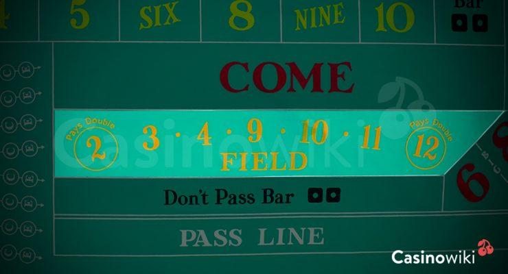 Field bet craps