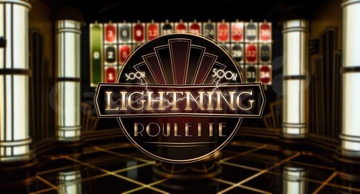 Hoe speel je lightning roulette?