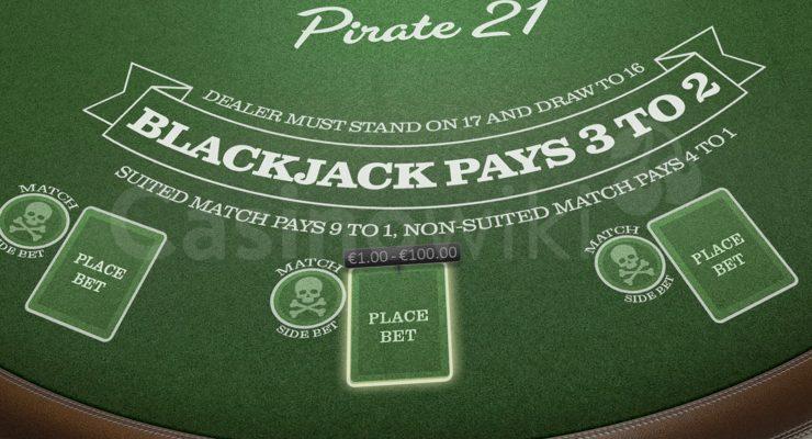Hoe speel je Pirate 21