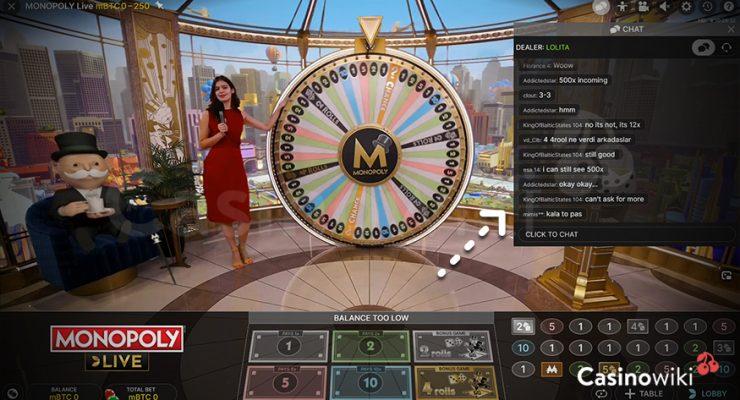 Hoe gebruik je de Chat in een Live Casino?