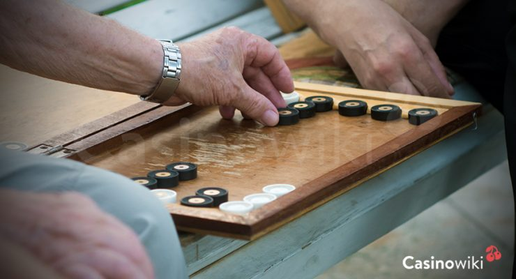 Winnen bij backgammon
