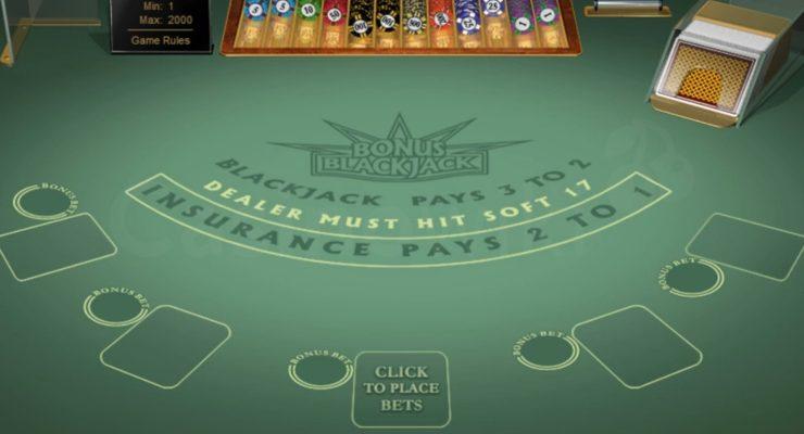 Hoe speel je Bonus Blackjack