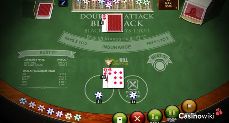 Hoe speel je Double Attack Blackjack?