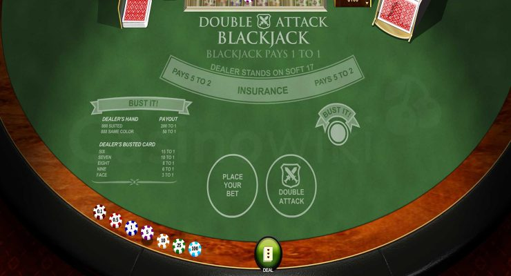 Hoe speel je Double Attack Blackjack?