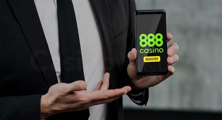 Registreren bij 888