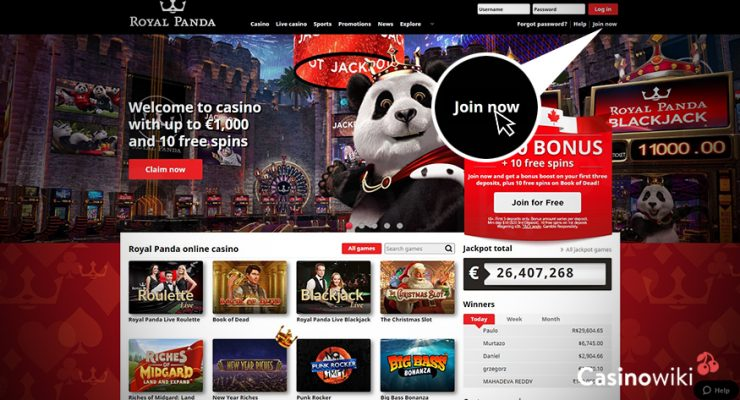 Hoe registreer je bij Royal Panda