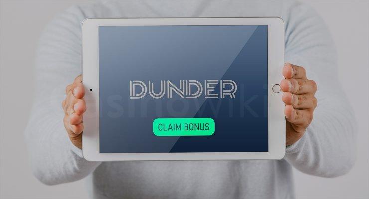 Bonus ontvangen bij Dunder