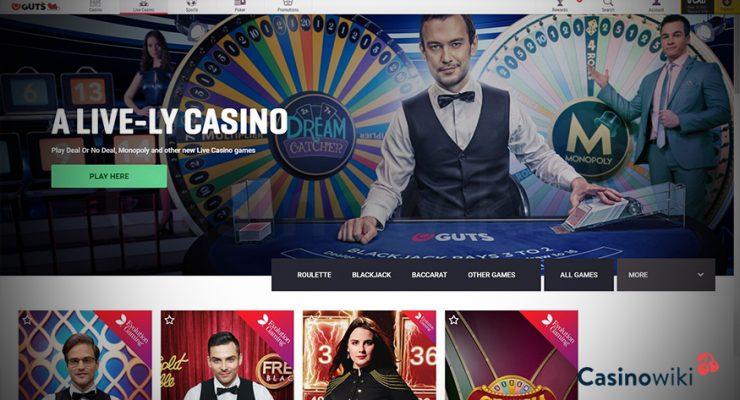 Hoe registreer je bij Guts Casino