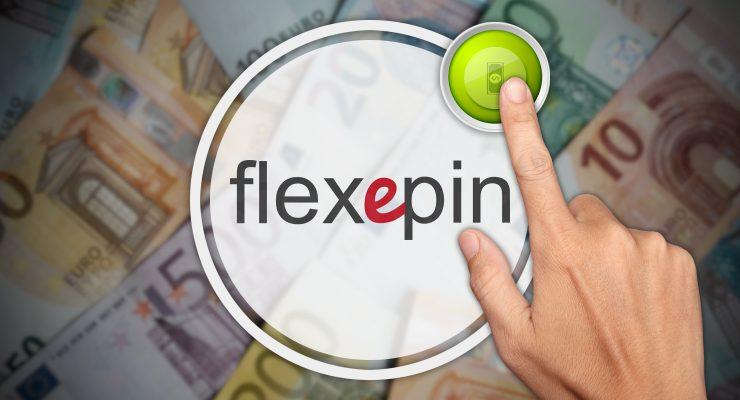 Storten met Flexepin