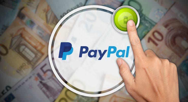 Storten met PayPal