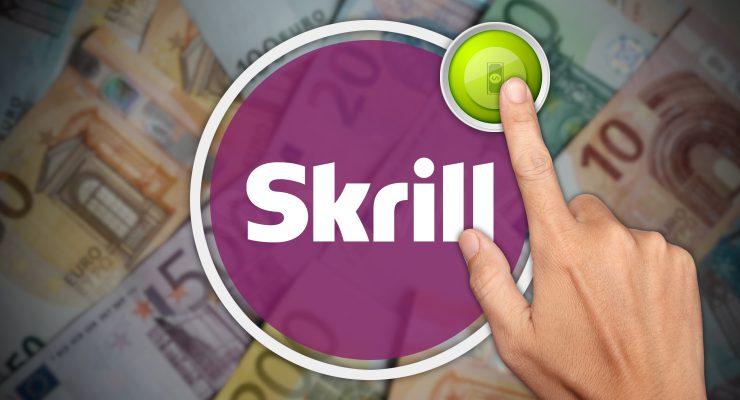 Storten met Skrill