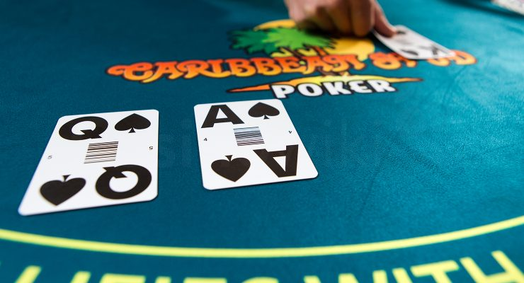 Raise in Caribbean Stud Poker
