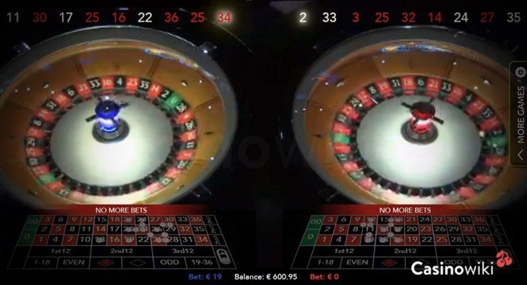 Authentic Roulette Double Wheel