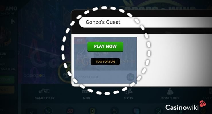 Gonzo's Quest